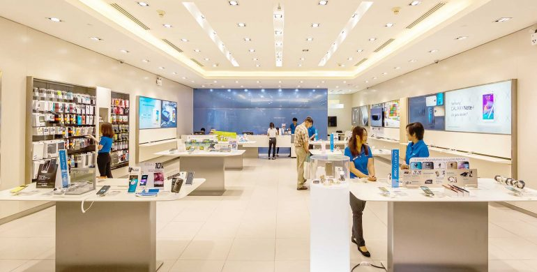 The story behind Samsung authorized service center